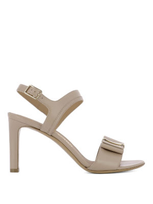 Salvatore Ferragamo: sandals - Edra heeled sandals