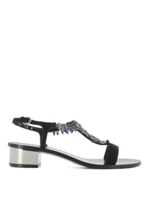 Salvatore Ferragamo: sandals - Elsie jewel sandals