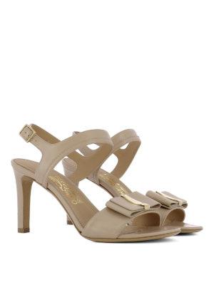Salvatore Ferragamo: sandals online - Edra heeled sandals