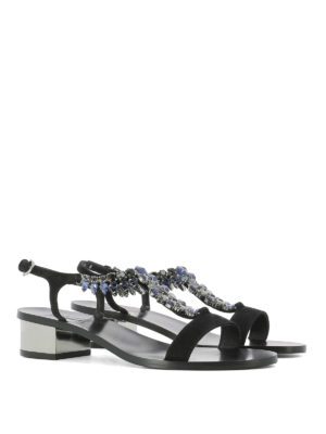 Salvatore Ferragamo: sandals online - Elsie jewel sandals