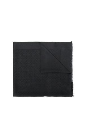 SALVATORE FERRAGAMO: sciarpe e foulard - Foulard stampa Gancini