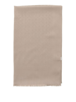 Salvatore Ferragamo: scarves online - Wool and silk scarf