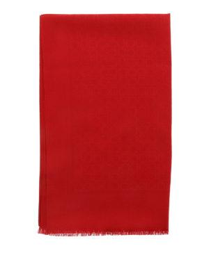 Salvatore Ferragamo: scarves online - Wool and silk scarf