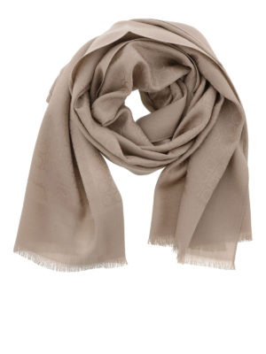 Salvatore Ferragamo: scarves - Wool and silk scarf