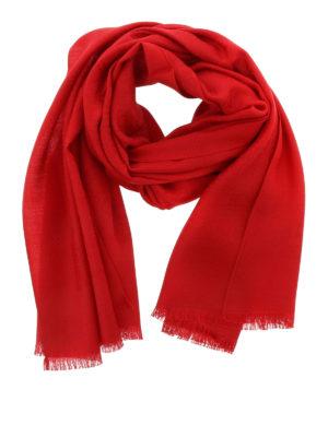Salvatore Ferragamo: scarves - Wool and silk scarf