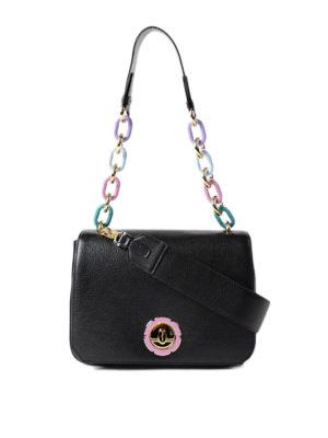 Salvatore Ferragamo: shoulder bags - Lexi leather shoulder bag