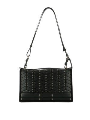 Salvatore Ferragamo: shoulder bags online - Aileen leather shoulder bag
