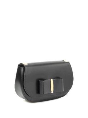 Salvatore Ferragamo: shoulder bags online - Brushed leather shoulder bag