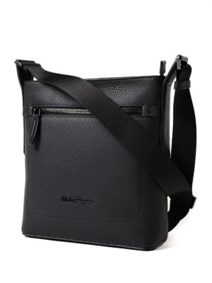 Salvatore Ferragamo: shoulder bags online - Grainy leather messenger bag
