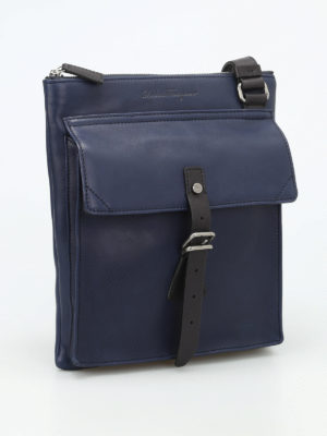 Salvatore Ferragamo: shoulder bags online - Trotter messenger bag