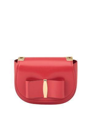 Salvatore Ferragamo: shoulder bags - Vara bow small shoulder bag