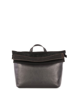 Salvatore Ferragamo: shoulder bags - Vertebra leather shoulder bag