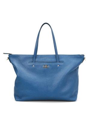 Salvatore Ferragamo: totes bags - Mika shopper tote
