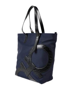 Salvatore Ferragamo: totes bags online - Leather Gancio detailed tote