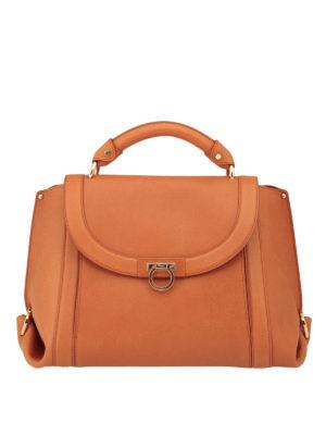 Salvatore Ferragamo: totes bags - Suzanna leather tote