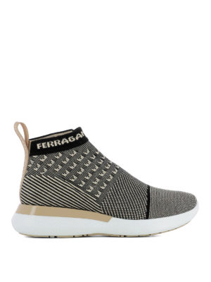 Salvatore Ferragamo: trainers - Caprera pull on light sneakers