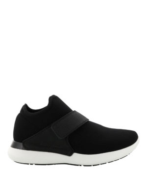 Salvatore Ferragamo: trainers - Elasticated fabric sneakers