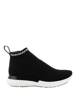 Salvatore Ferragamo: trainers - Knitted sock sneakers
