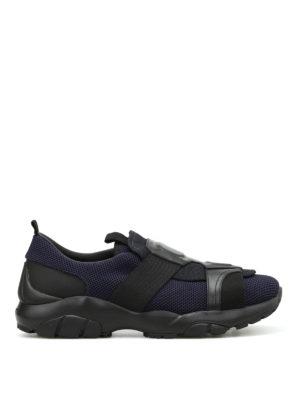 Salvatore Ferragamo: trainers - Mesh trekking sneakers