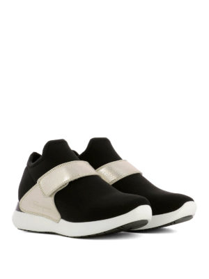 Salvatore Ferragamo: trainers online - Palau fabric slip-ons with band