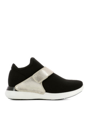 Salvatore Ferragamo: trainers - Palau fabric slip-ons with band