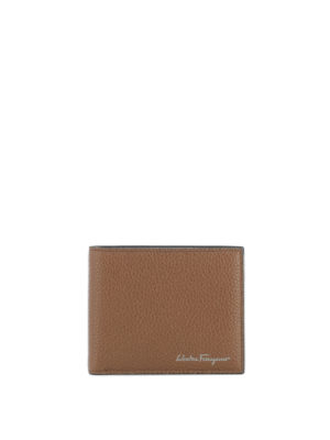 Salvatore Ferragamo: wallets & purses - Firenze hammered leather wallet