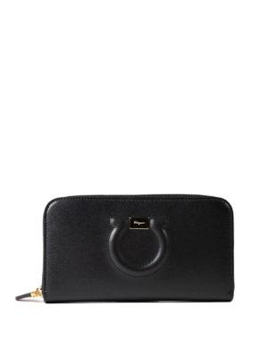 Salvatore Ferragamo: wallets & purses - Gancini continental wallet
