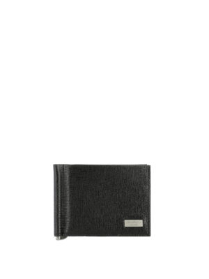 Salvatore Ferragamo: wallets & purses - New Revival money clip wallet