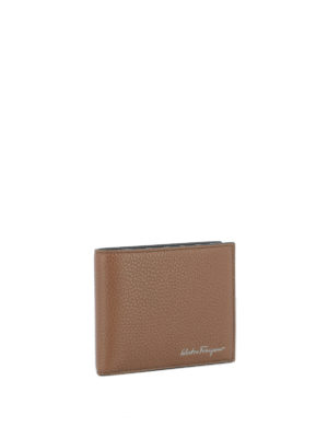 Salvatore Ferragamo: wallets & purses online - Firenze hammered leather wallet