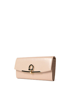 Salvatore Ferragamo: wallets & purses online - Gancini clip leather wallet