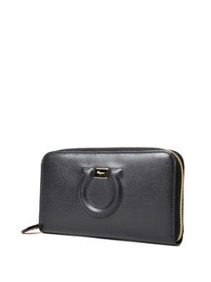 Salvatore Ferragamo: wallets & purses online - Gancini continental wallet
