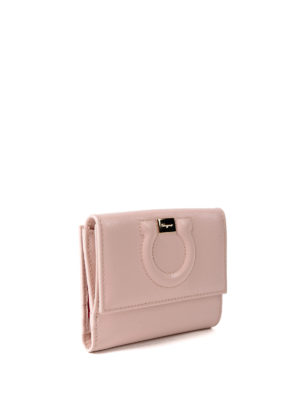 Salvatore Ferragamo: wallets & purses online - Gancini small wallet