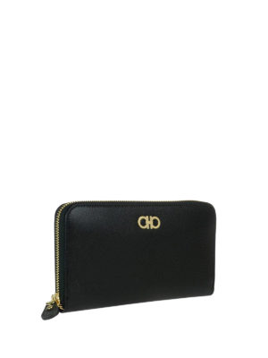 Salvatore Ferragamo: wallets & purses online - Gancio leather wallet