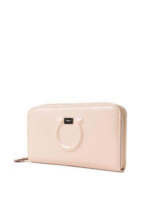 Salvatore Ferragamo: wallets & purses online - Leather Gancini continental wallet