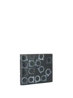 Salvatore Ferragamo: wallets & purses online - Printed leather billfold wallet