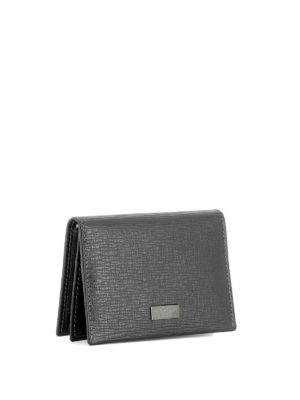 Salvatore Ferragamo: wallets & purses online - Revival embossed card holder