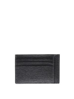 Salvatore Ferragamo: wallets & purses online - Revival leather card holder