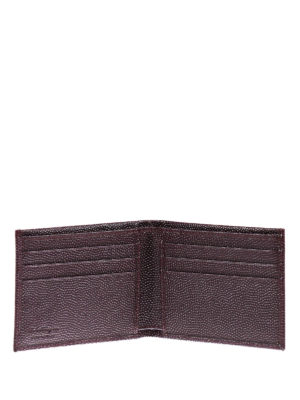 Salvatore Ferragamo: wallets & purses online - Ten-forty-one bifold leather wallet