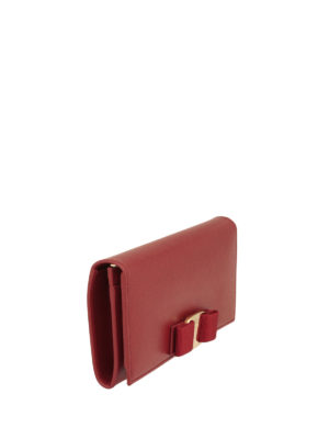 Salvatore Ferragamo: wallets & purses online - Vara Continental leather wallet