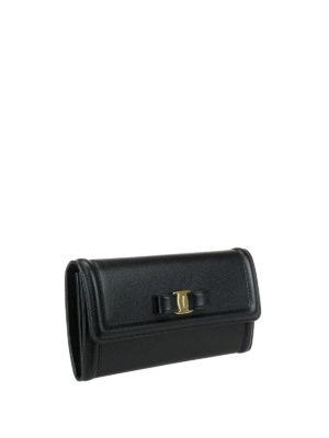 Salvatore Ferragamo: wallets & purses online - Vara continental leather wallet