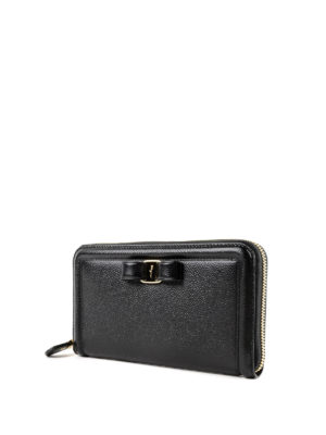 Salvatore Ferragamo: wallets & purses online - Vara leather wallet
