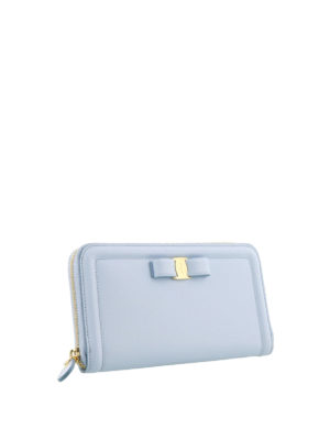Salvatore Ferragamo: wallets & purses online - Vara zip around wallet