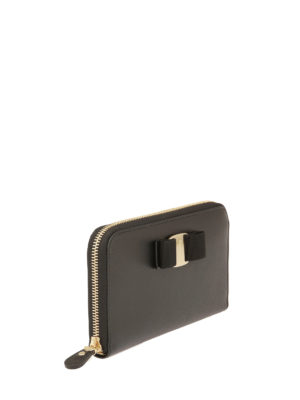 Salvatore Ferragamo: wallets & purses online - Zip around Vara wallet