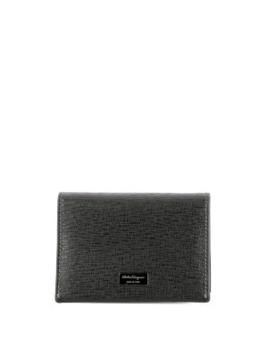Salvatore Ferragamo: wallets & purses - Revival embossed card holder