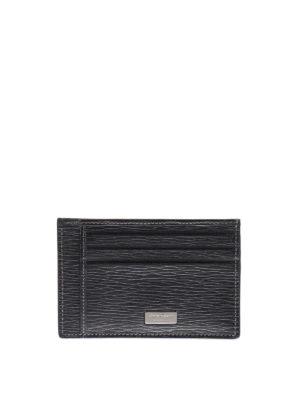 Salvatore Ferragamo: wallets & purses - Revival leather card holder