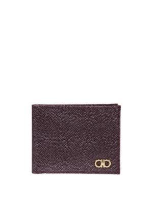 Salvatore Ferragamo: wallets & purses - Ten-forty-one bifold leather wallet