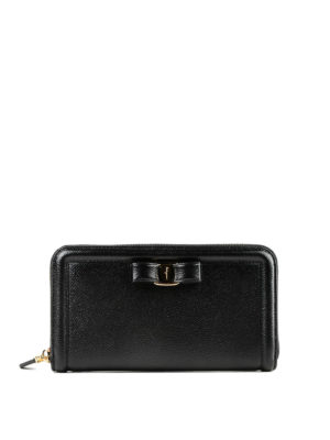 Salvatore Ferragamo: wallets & purses - Vara leather wallet