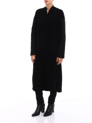 Salvatore Santoro: Fur & Shearling Coats online - Shearling long coat