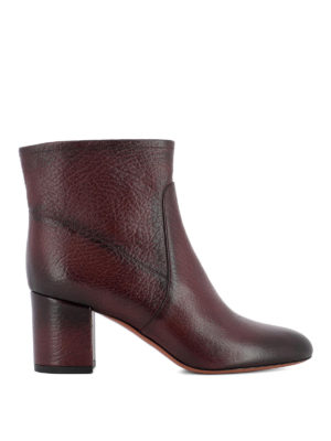 Santoni: ankle boots - Shaded leather ankle boots