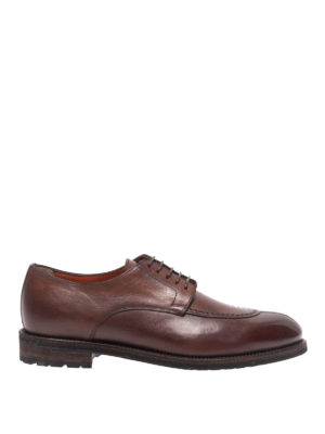 SANTONI: lace-ups shoes - Calf leather lace-ups